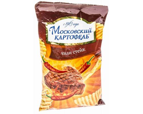 Чипсы ТМ Московский картофель Чили Стейк, 70 г