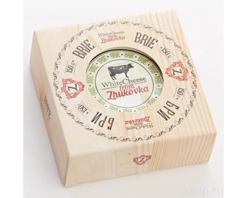 Сыр ТМ Zhukovka (Жуковка) Бри, 60% с белой плесенью, 150 г