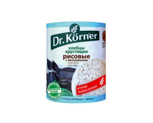 Хлебцы хрустящие рисовые с витаминами ТМ Dr.Korner (Доктор Корнер)