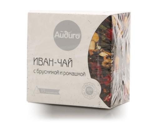 Иван-чай с брусникой и ромашкой 15*2г ТМ Айдиго