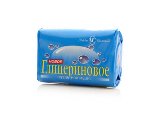 Мыло туалетное Новое Глицериновое ТМ Невская косметика