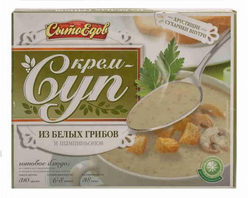 Крем-суп СытоЕдов из белых грибов и шампиньонов 310г