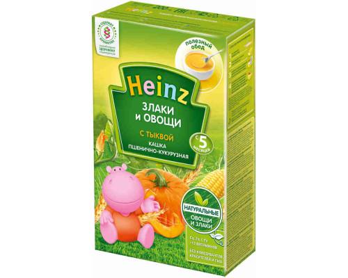 Каша без молока Heinz овощная/пшенично-кукурузная/тыква с 5мес 200г