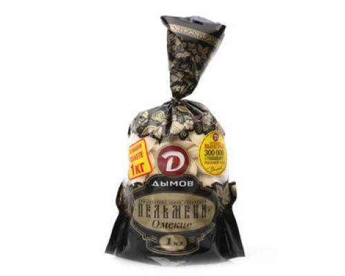 Пельмени Омские ТМ Дымов, 1 кг