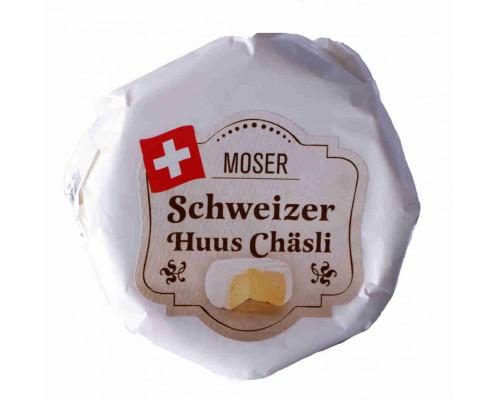 Сыр Moser Huus Chasli 55% 125г