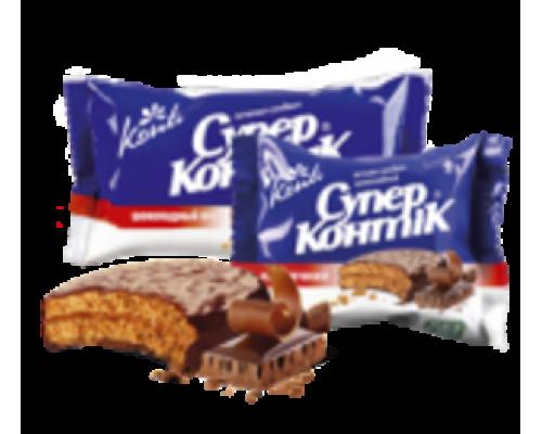 Печенье-сендвич с шоколадным вкусом Супер Контик ТМ Konti (Конти)