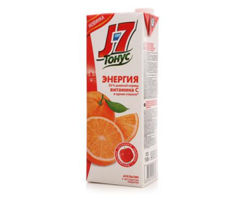 Нектар апельсиновый ТМ J7 (Джей севен), с ацеролой, 1,45 л