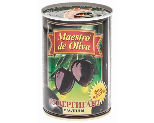 Маслины Maestro de Oliva б/к супергигант 425г ж/б