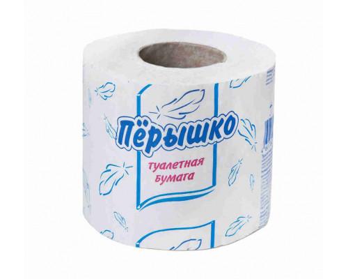 Туалетная бумага Перышко 1сл 1рул