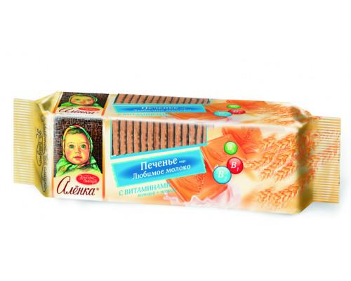 Печенье ТМ Аленка, вкус Любимое молоко, 190 г