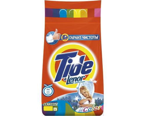 Стиральный порошок ТМ Tide (тайд) Автомат Color Lenor Touch of Scent, 3 кг