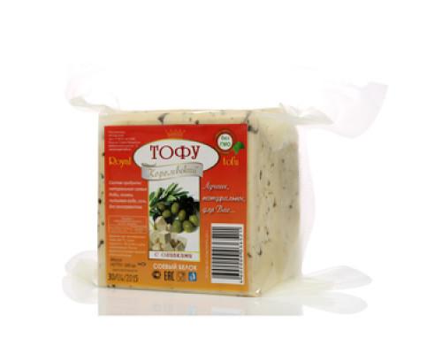 Тофу королевский с оливками ТМ Royal tofu (Ройял тофу)