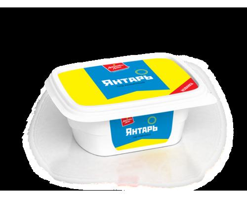 Сыр плавленый Янтарь ТМ Ласковое лето, 60%, 150 г