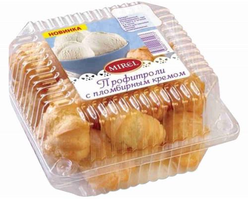 Пирожное Мирэль профитроли с пломбирным кремом 180г