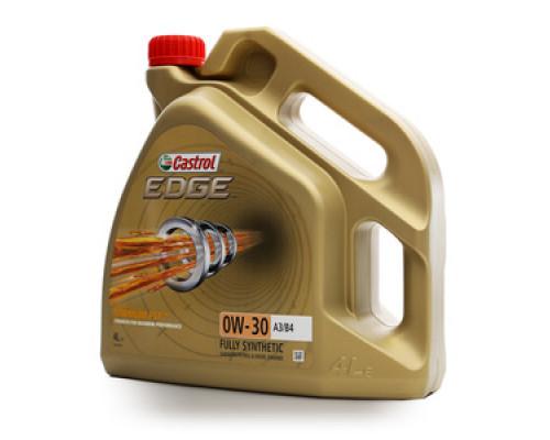 Масло моторное синтетическое EDGE 0W-30 A3/B4 ТМ Castrol (Кастрол)