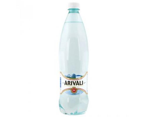 Вода ТМ Arivali (Аривали) Нагутская-26, минеральная, природная, лечебно-столовая, газированная, 1 л