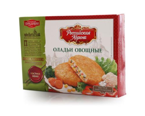 Оладьи овощные ТМ Российская корона