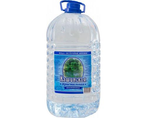 Вода артезианская ТМ Кашинская Кристальная, негазированная, 5 л