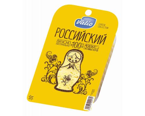 Сыр Valio Российский 50% 140г нарезка