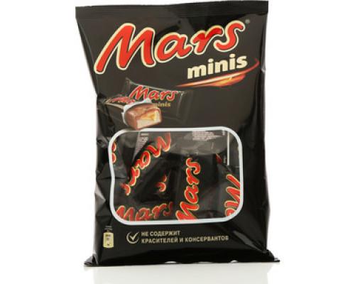 Шоколадный батончик Mars Minis ТМ Mars (Марс)