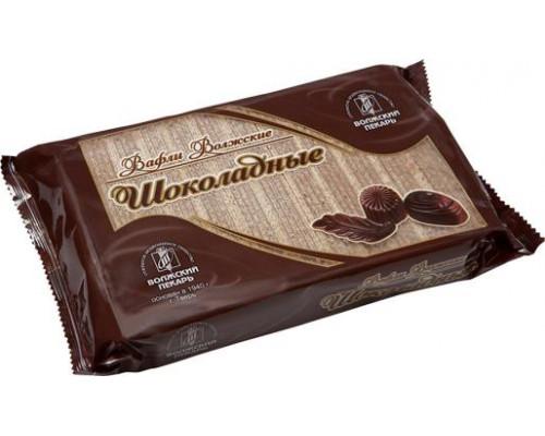 Вафли Волжские ТМ Волжский пекарь, шоколадные, 220 г