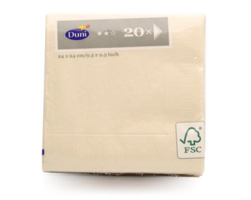 Салфетки бумажные 20шт ТМ Duni (Дани)