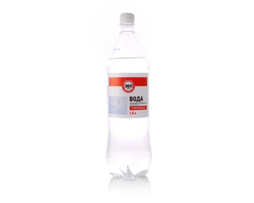 Вода питьевая артезианская первой категории газированная ТМ 365 дней