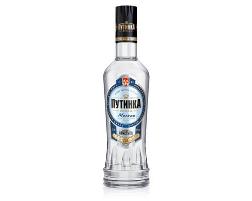 Водка Путинка мягкая, 40%, 0,5 л