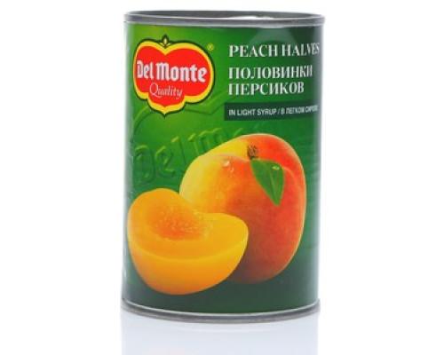 Компот персики половинки ТМ Del Monte (Дел Монте)