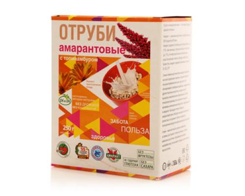 Отруби амарантовые с топинамбуром ТМ Di&Di (Ди энд Ди)