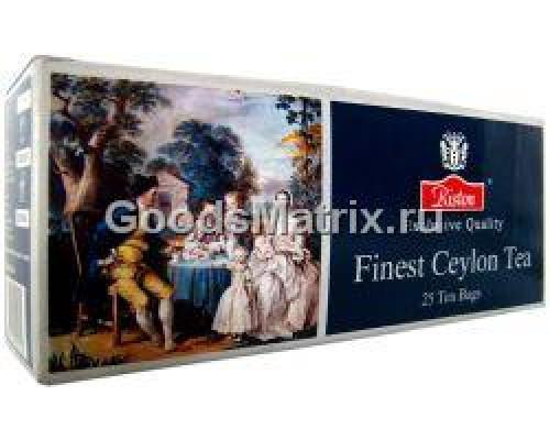 Чай черный ТМ Riston (Ристон) Finest Ceylon, в пакетиках, 25 шт.