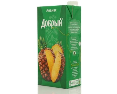 Сок ананасовый ТМ Добрый