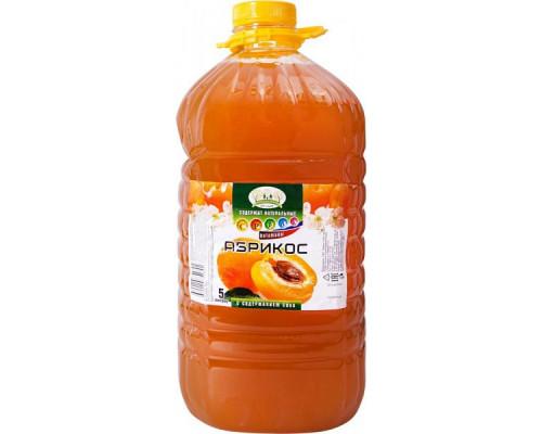 Напиток Абрикос ТМ Прогулка по саду, с содержанием сока, 5 л