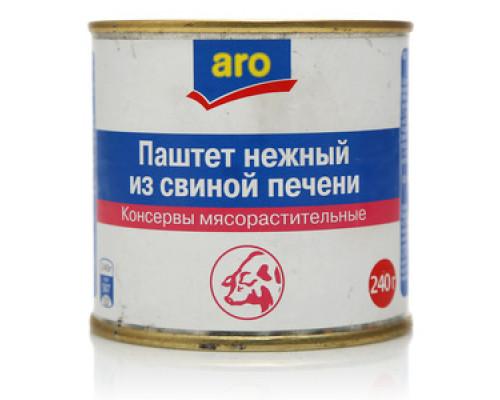 Паштет нежный из свиной печени ТМ Aro (Аро)