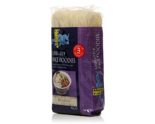 Рисовая лапша стир-фрай тонкая ТМ Blue Dragon (Блю Драгон)