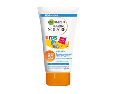 Солнцезащитный крем для детей ТМ Garnier Ambre Solaire Kids
