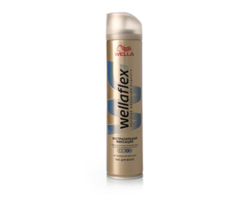 Лак для волос Wellaflex Экстрасильная фиксация ТМ Wella (Велла)