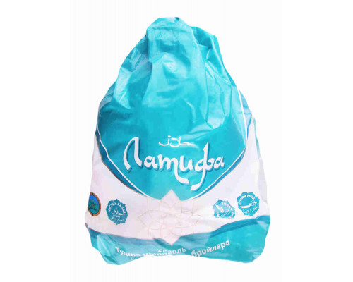 Цыпленок 1кат охлажденный Халяль Латифа кг