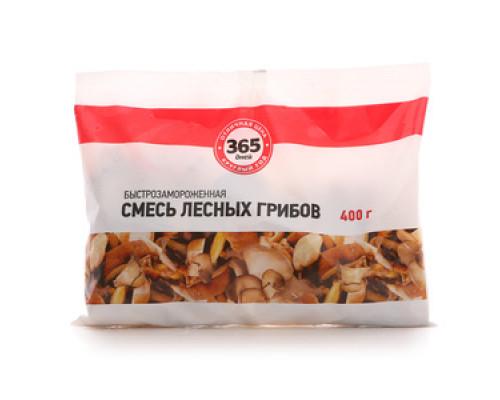Смесь лесных грибов быстрозамороженная ТМ 365 дней