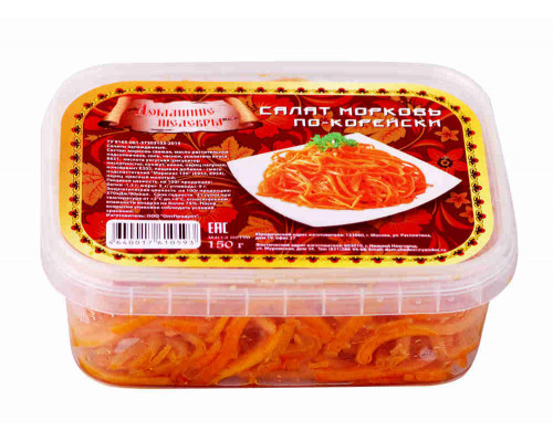 Морковь по-корейски 150г