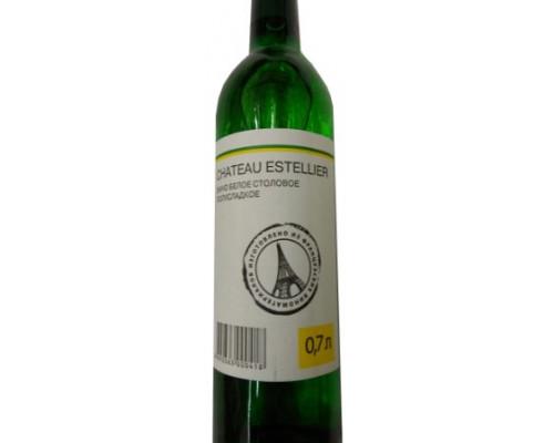 каждый день, вино столовое полусладкое белое, 0,7л