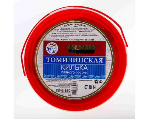 Килька Томилинская пр/пос 850г пл/б