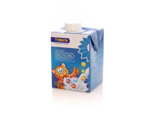 Молоко детское 3,2% ТМ Лента