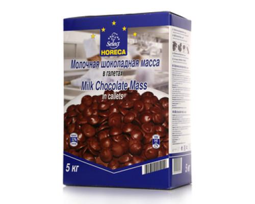 Молочная шоколадная масса в галетах ТМ Horeca Select (Хорека Селект)