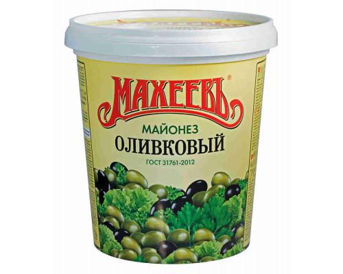 Майонез Махеевъ оливковый 50,5% 800г ведро