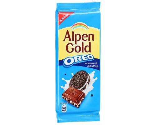 Шоколад ТМ Alpen Gold (Альпен Голд) Oreo молочный, 95 г