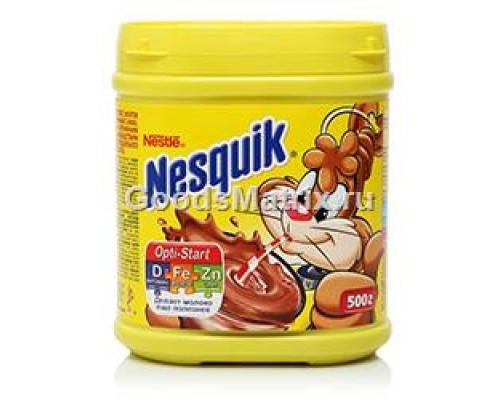 Какао ТМ Nesquik (Несквик), быстрорастворимое с витаминами 500 г