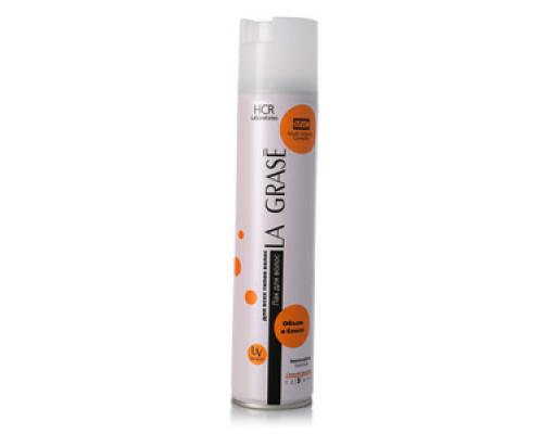 Лак для волос, Объем и Блеск, Сильная фиксация, для всех типов волос ТМ La Grase (Ля Грасе)