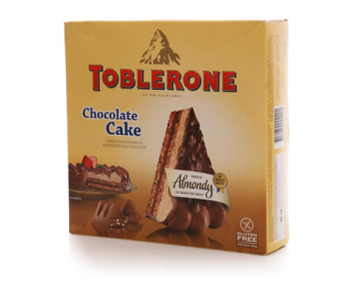 Торт Toblerone Chocolate Cake замороженный TM Almondy (Алмонди)