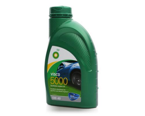 Масло моторное синтетическое 5W-40 ТМ BP visco 5000 (БиПи виско 5000)